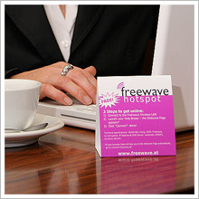 Freewave Marketing Tischaufsteller