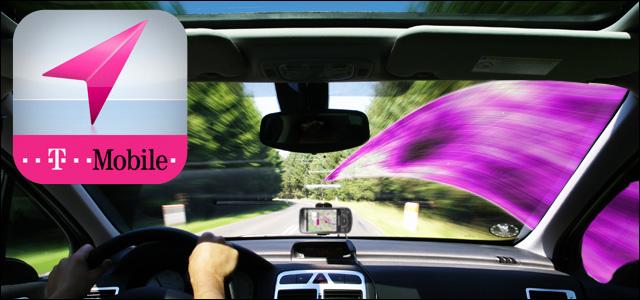 T-Mobile Wisepilot Navigation mit Freewave Hotspots