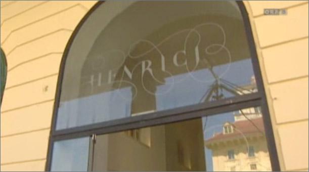 Screenshot vom Beitrag: Der Eingang vom Restaurant Henrici