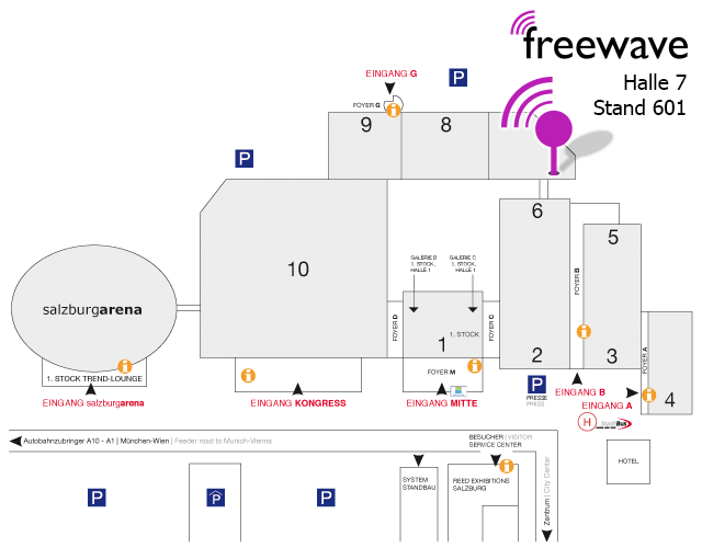 Gastmesse 2015 Standplan