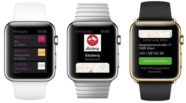 Symbolbild mit der Freewave App auf der  Apple Watch
