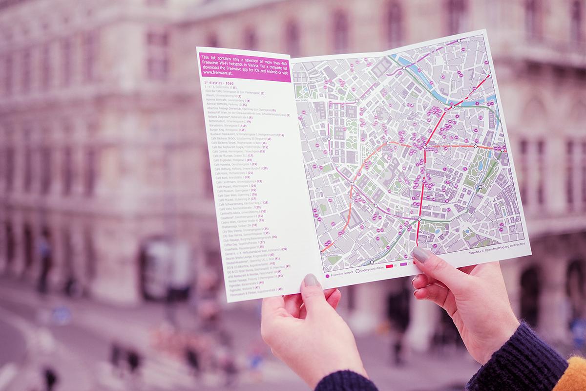 Freewave: Stadtkarte Wien