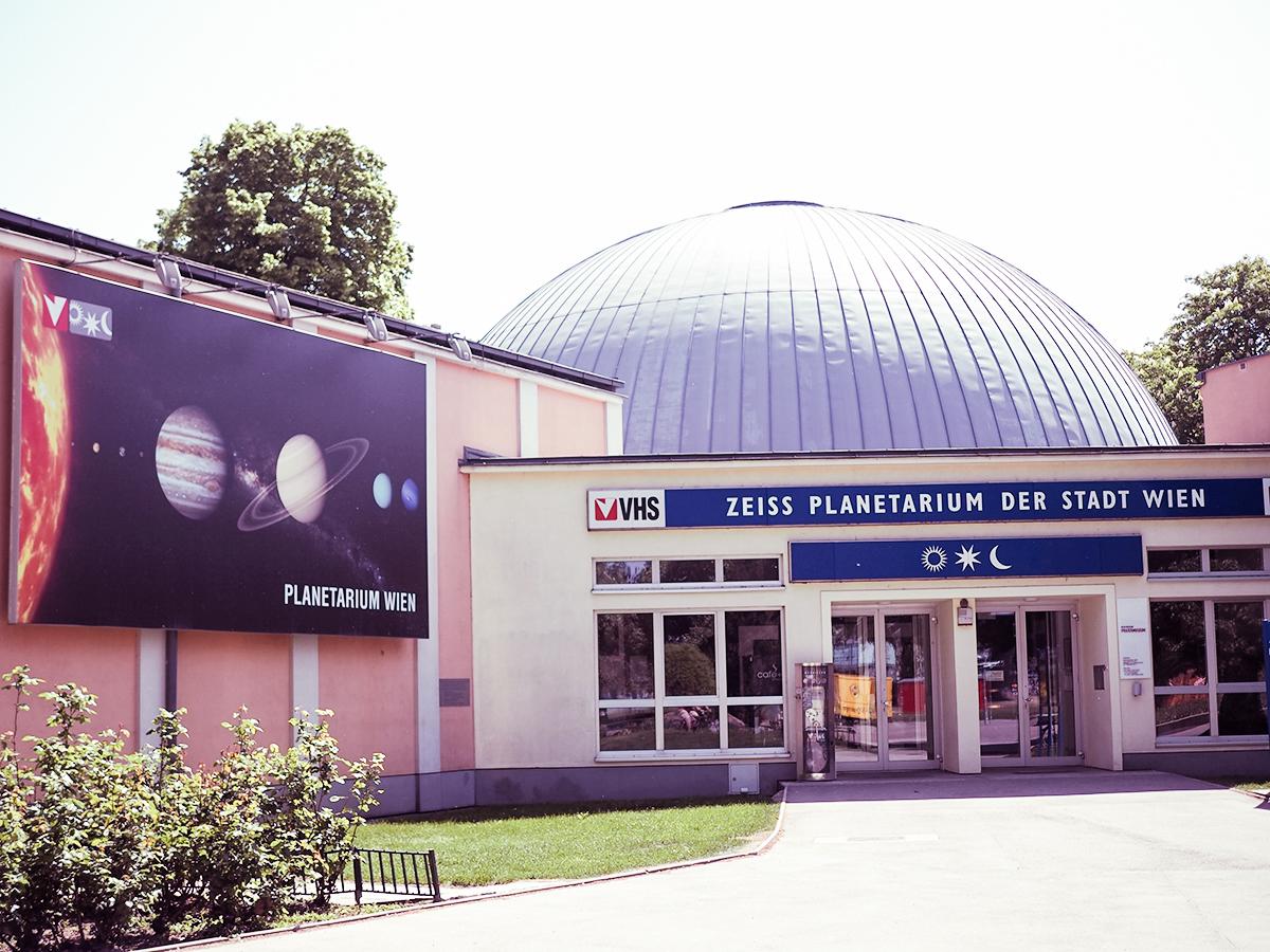 Planetarium Wien |Freewave-Hotspot