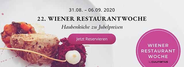 Wiener Restaurantwoche: Banner | Freewave