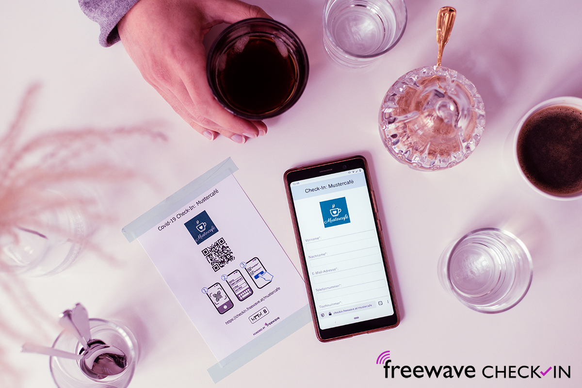 Freewave Check-In: Gästeerfassung