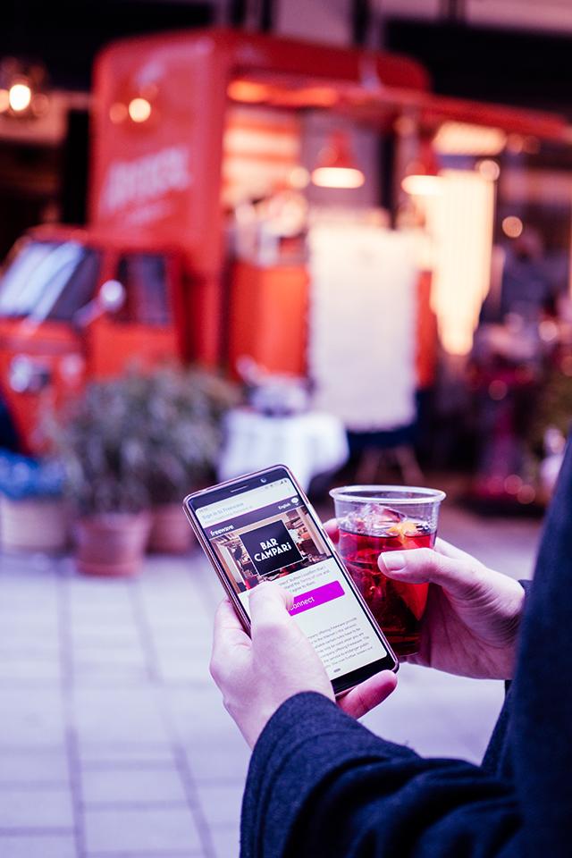 Bar Campari in Wien | Freewave