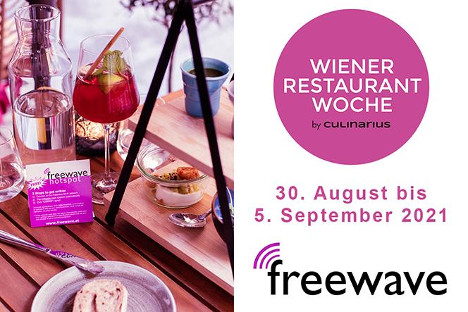 Wiener Restaurantwoche 2021 | Freewave
